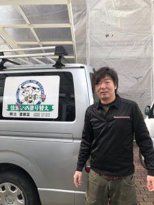 辻塗装店 塗装職人 松崎 隆一さん 【マツザキ リュウイチ】