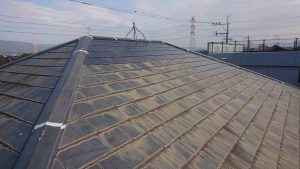 コロニアル屋根 日本ペイントさん ファインパーフェクトシーラー 下塗り