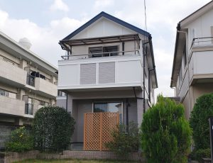 福岡県 太宰府市 G様邸 住宅  外壁 屋根 塗装工事 施工後
