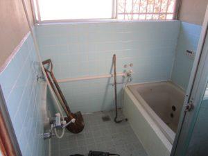 福岡県 太宰府市 M様邸 風呂 浴室 ユニットバスリフォーム工事 施工前
