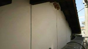 福岡県 粕屋郡 篠栗町 K様所有物件 N様邸 高圧洗浄作業 外壁 完了