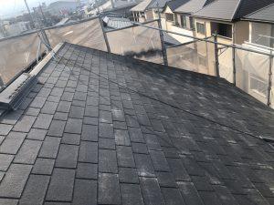 福岡市 早良区 N様邸 住宅塗装工事 コロニアル屋根 高圧洗浄 完了