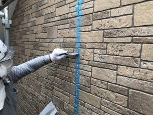 福岡市 早良区 N様邸 住宅塗装工事 サイディングボード シーリング打替え工事 ヘラ仕上げ