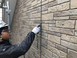福岡市 早良区 N様邸 住宅塗装工事 サイディングボード シーリング打替え工事 既存撤去施工状況