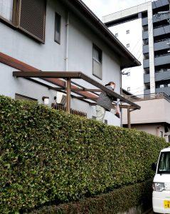 筑紫野市 G様邸 タキロン 屋根 取替え 工事 施工前