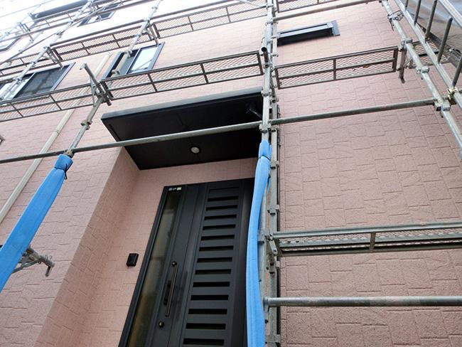 写真:外壁塗装