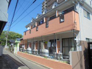福岡市 西区 コビソル姪の浜 賃貸アパート 改修塗装工事 完了