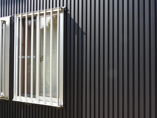 写真:ガルバリウム鋼板