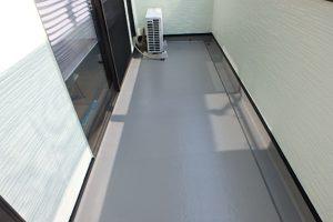 福岡県 太宰府市 K様邸 住宅塗装工事 ベランダ FRP防水 塗替え 完了