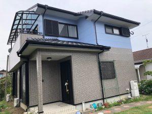 福岡県 須恵町 H様邸 外壁改修工事 完了