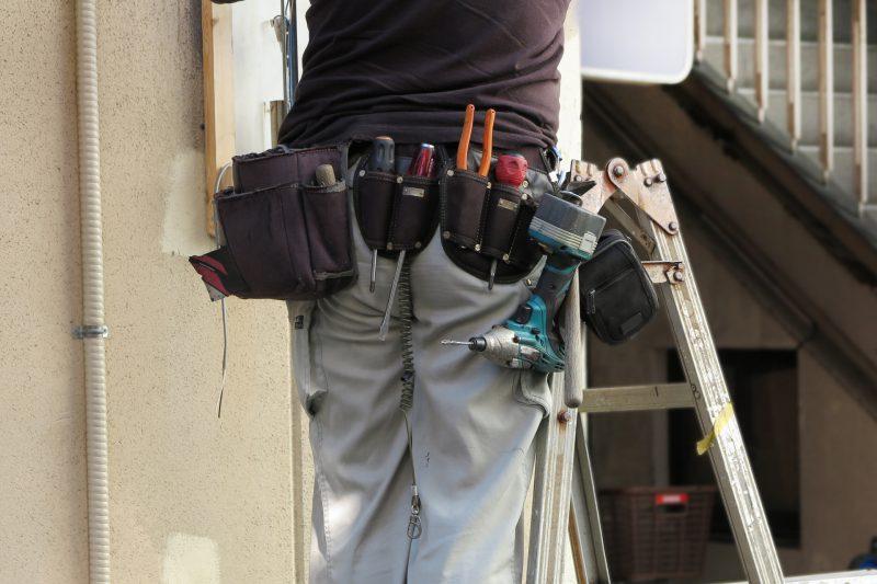 写真:塗装業者