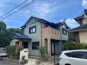 筑紫野市 K様邸 外壁 屋根 塗装工事 完了
