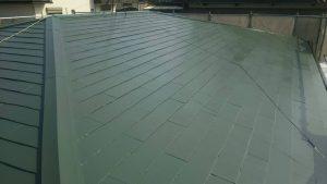 春日市オーナー I様所有物件 飯塚市 借家 屋根塗装工事 完了
