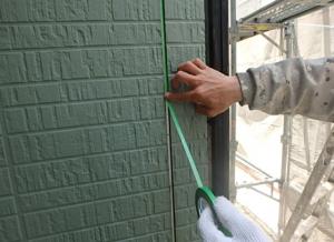 小郡市 M様邸 外壁塗装工事 シーリング打ち替え ボンドブレーカー貼り付け